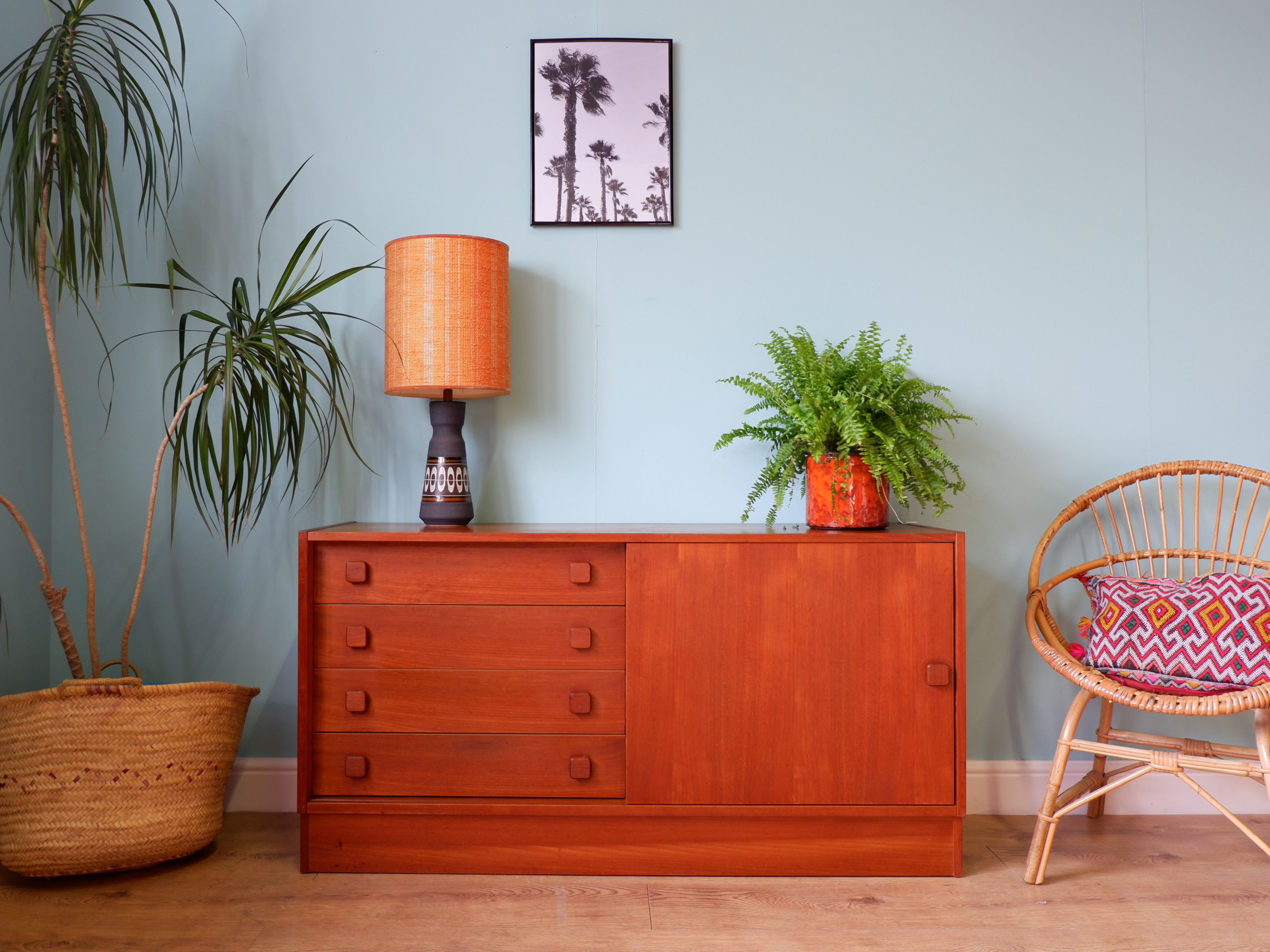 c134975f2 Mid century Danish sideboard by Domino Mobler